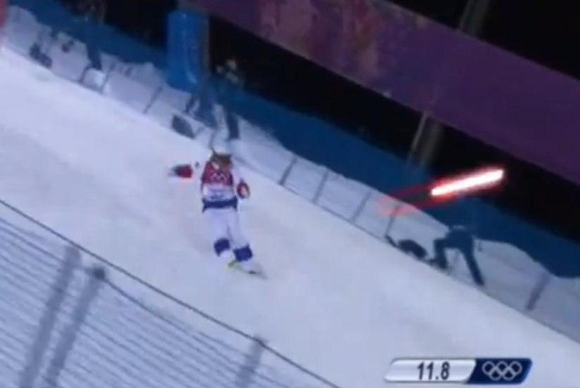 """VIDEO: """"Star Warsi"""" sõjamasinad ründasid Sotšis olümpiavõistlejaid!"""