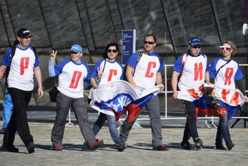 HOKILAHING SOTŠIS! Venemaa koondis alustas olümpiaturniiri põneva võiduga