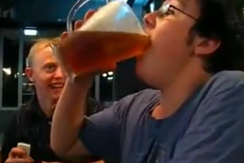 Rumal joomismäng kogub tuure