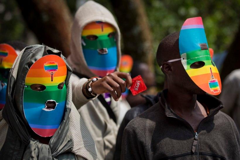 Uganda homod ähvardavad kolida Suurbritanniasse ja USAsse