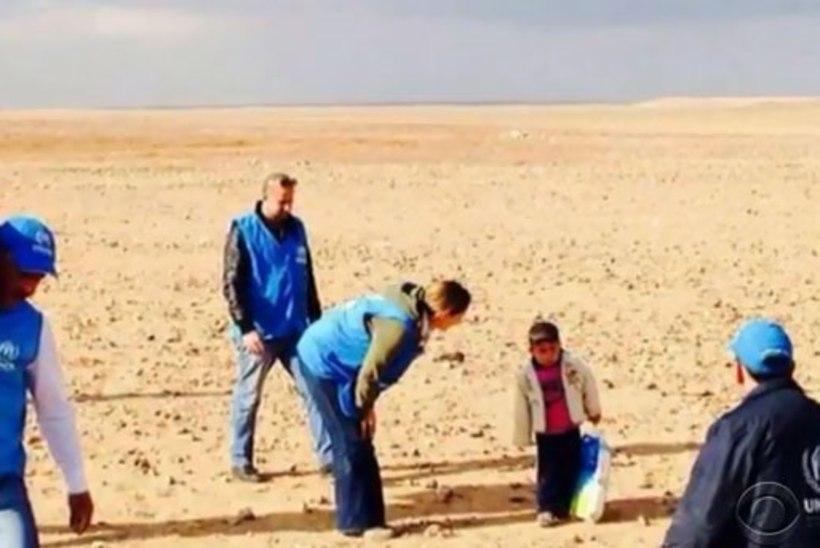 Südantlõhestav foto: kõrbest leiti üksi ringi uitav 4aastane Süüria pagulane