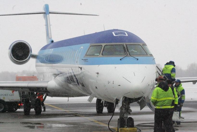 Tallinna lennujaamas oli eriolukord: lennukid ei väljunud, saabuvad lennud suunati Helsingisse
