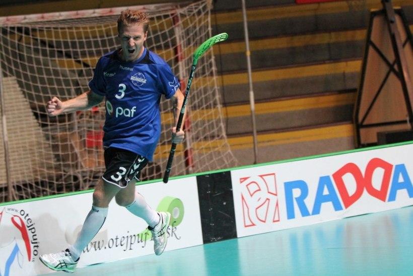 Kaks Eesti mängijat valiti saalihoki MM-valikturniiri sümboolsesse koosseisu