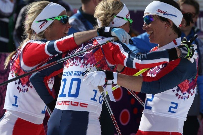 Norra olümpiadelegatsiooni juht: lootsime suusatajatelt paremat etteastet