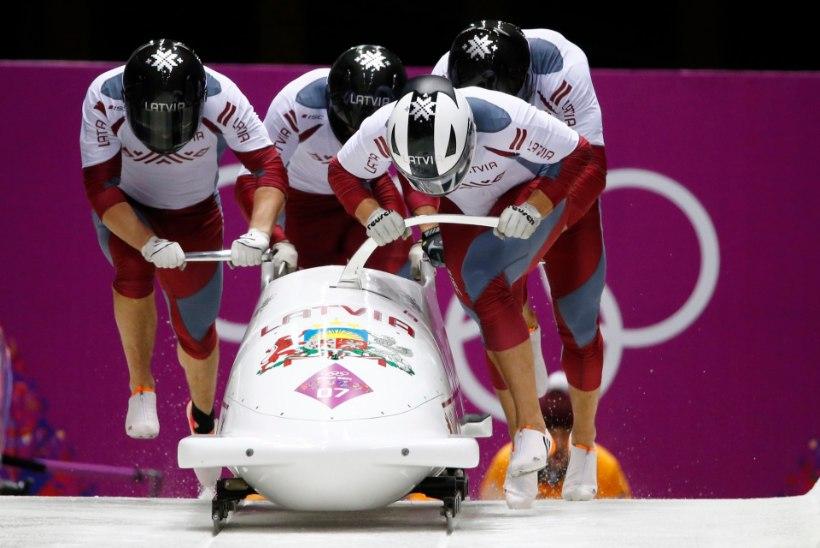 Üheksa riiki, sealhulgas Läti, püstitasid Sotši olümpial medalirekordi