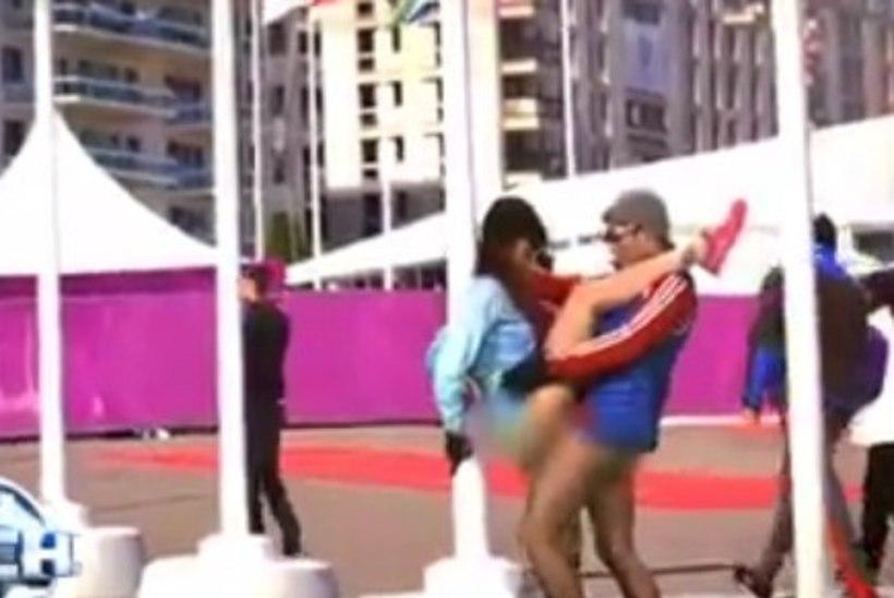 HUMOORIKAS VIDEO: kas Sotši olümpiakülas käis tõesti permanentne orgia?!