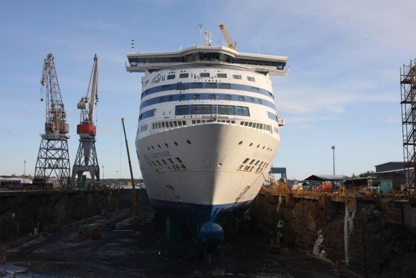 Silja Serenade ehitati ümber BLRT Grupi laevatehases