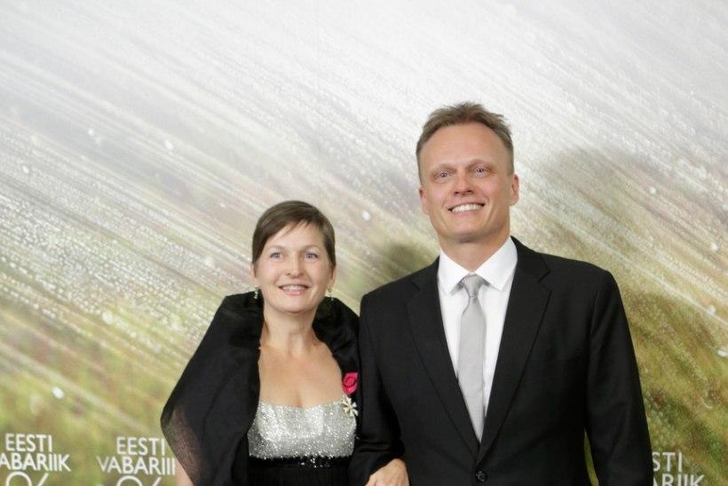 Imre Sooäär käis vastuvõtul endise abikaasaga