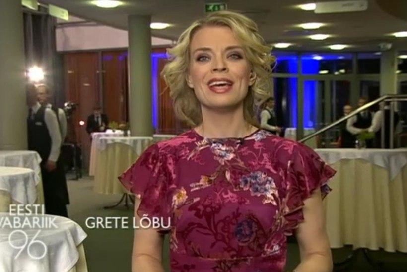 KAUNIS KAUNIMAKS: Grete Lõbu veetles televaatajaid Lilli Jahilo kleidis