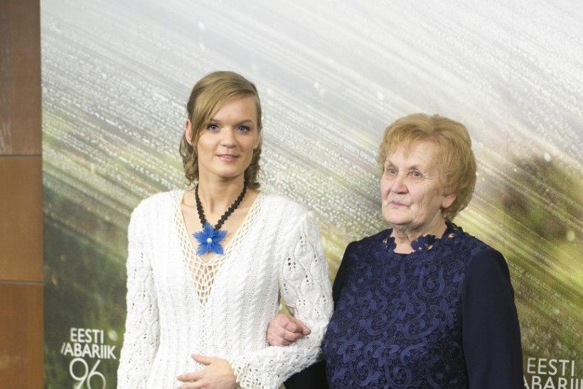 Aasta vanaema presidendi vastuvõtust: tore on minu eas veel midagi uut kogeda!