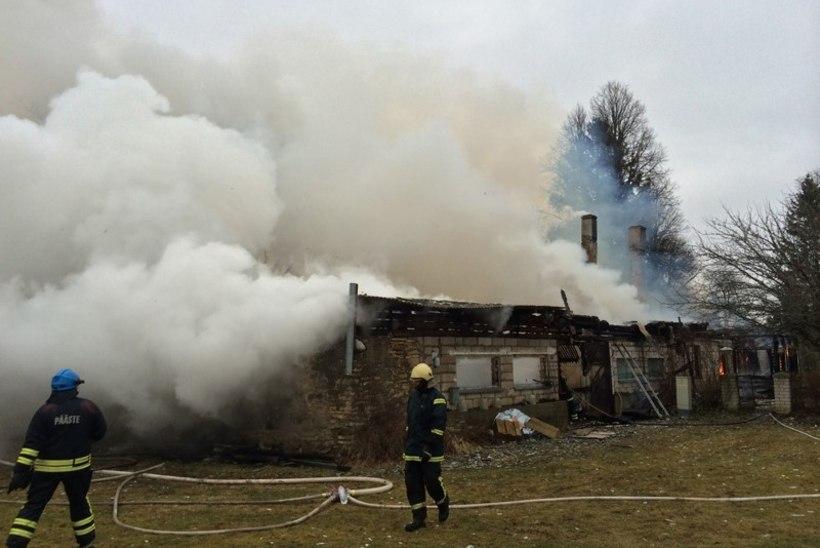 Talumaja põles maani maha