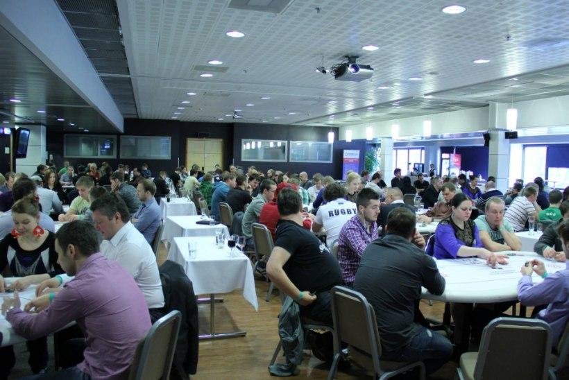 Pokkeri Eesti meistrivõistluste põhiturniiri alustas 241 mängijat