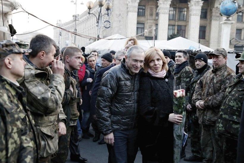 Maidani peaarst Olga sobiks Ukraina presidendiks