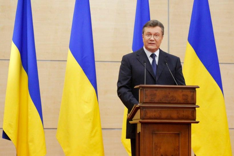 Janukovõtš: olen Ukraina seaduslik president ja loodan peagi naasta