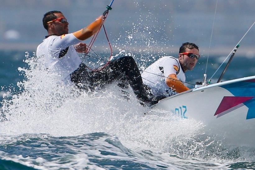 Olümpiale pürgivad hispaanlased purjetasid Kanaaridel alasti