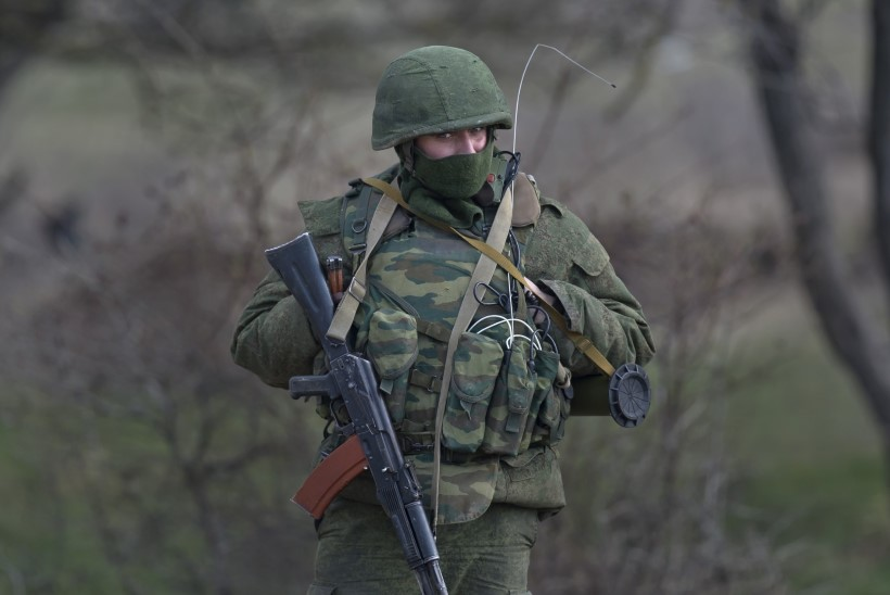 Venemaa sõjaväelased hõivasid Krimmis järjekordse raadioluureposti