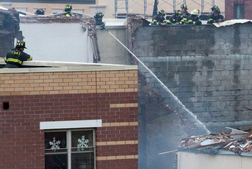 New Yorgi plahvatuse põhjustas gaasileke