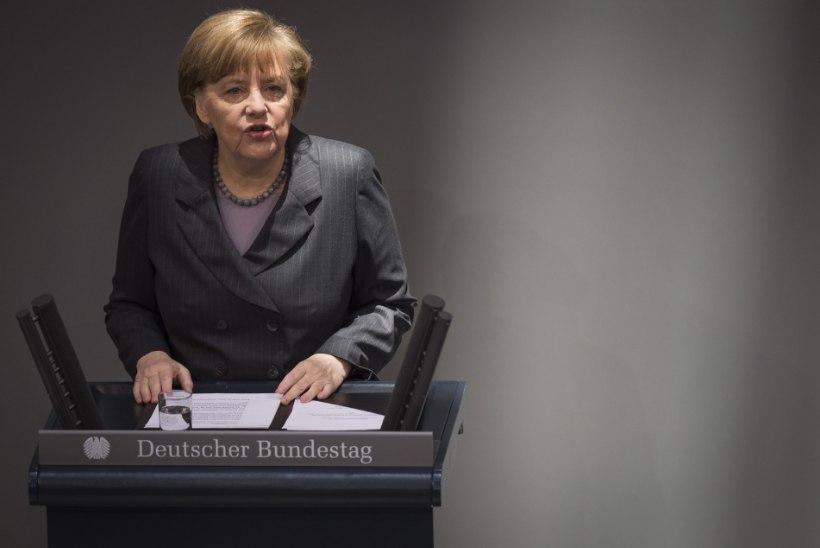 Merkel: Krimm ei ole Kosovo
