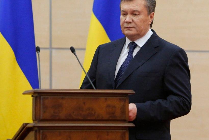 Janukovõtši asemel esines teisik?