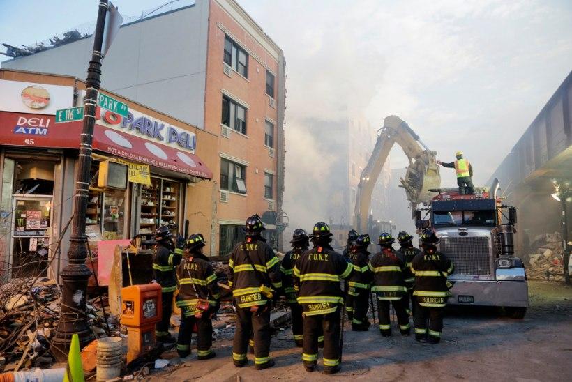 Manhattani plahvatusohvrite arv kasvas kaheksani