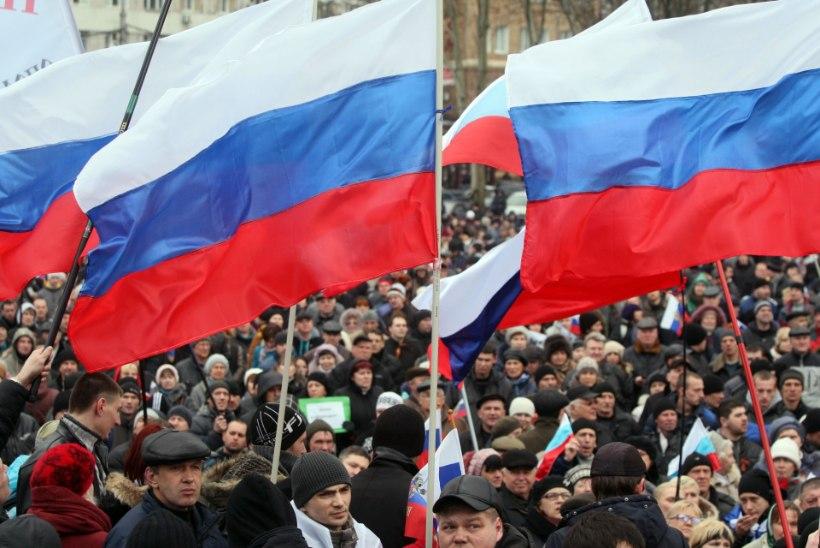 Moskva-meelsed proestijad ründavad Donetskis julgeolekujõudude hoonet