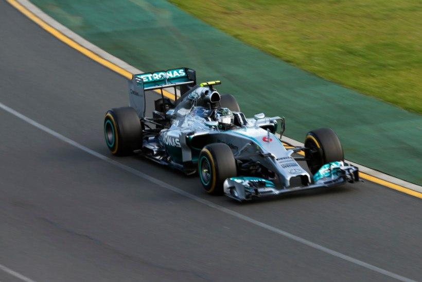 Vormeliaasta algas: Rosbergile etapivõit, Vetteli rekordseeria lõppes
