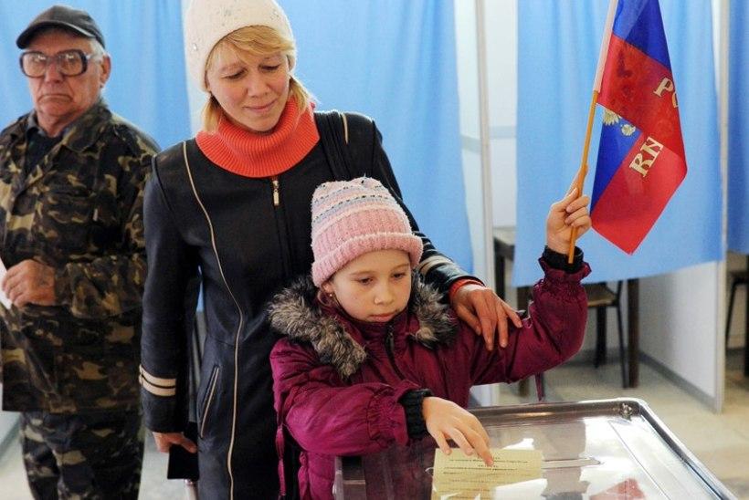 Ukraina idapiirkonnad lõõmasid rahutustes