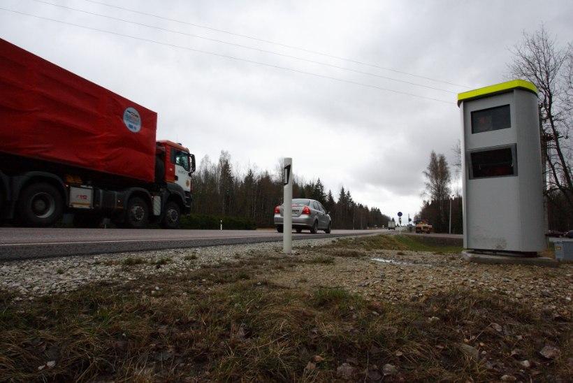 Harjumaa teedele lisandub üheksa kiiruskaamerat