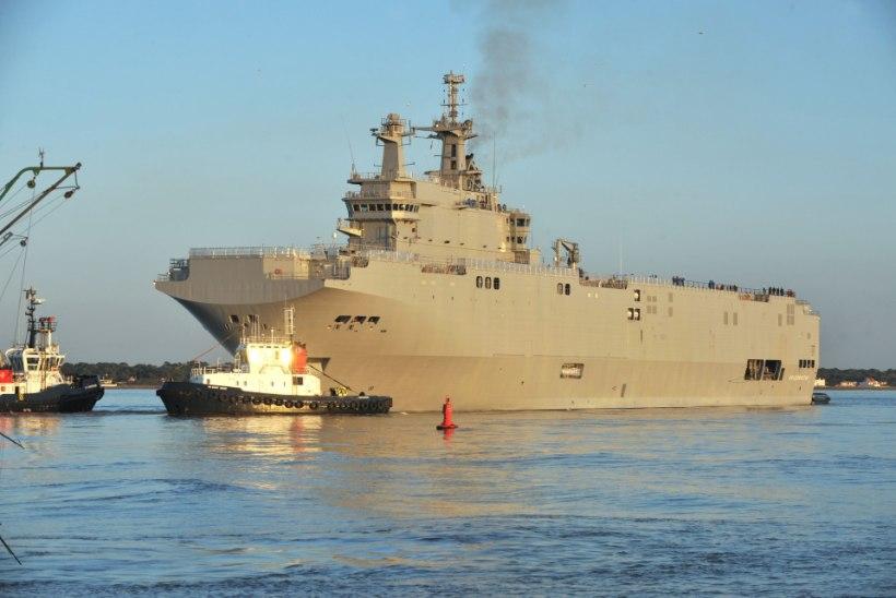 IRL Prantsuse presidendile: tühistage sõjalaevade üleandmine Venemaale!