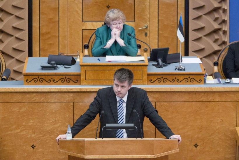 Reinsalu: Eesti vajab parteideülest kaitsekokkulepet