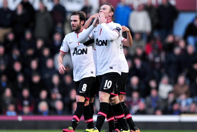 VIDEO: ManU alistas West Hami, Rooney skooris poolelt platsilt!