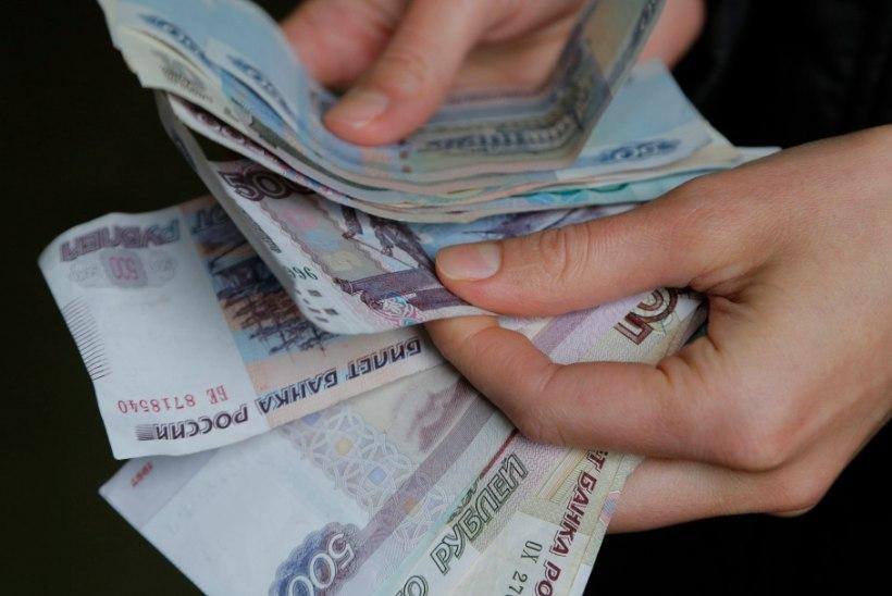 Krimmis tuli käibele Vene rubla