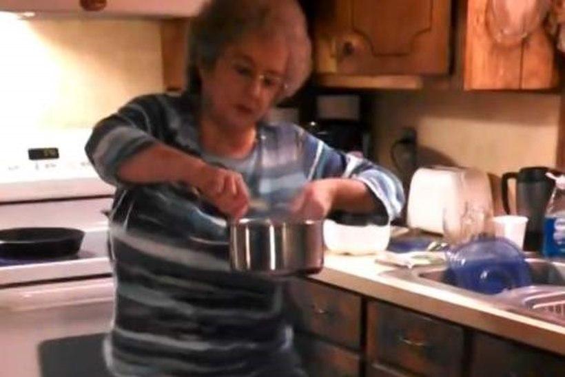 VIDEO: särtsakas vanaema lõi süüa tehes tantsu