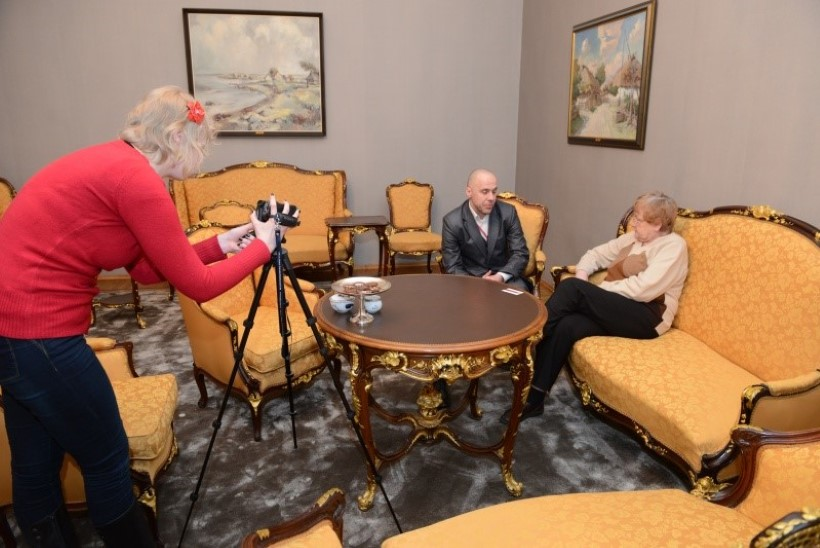 Ene Ergma andis intervjuu Ukraina televisioonile