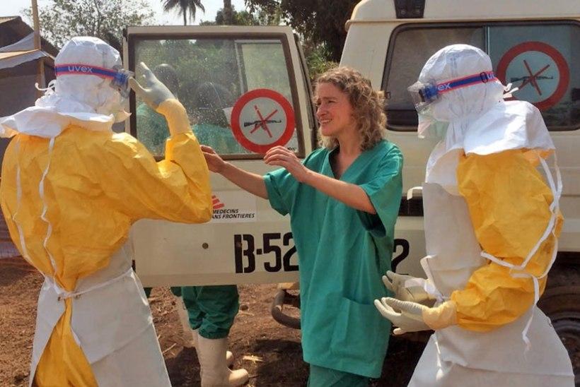 Ebola viirus levis Guineast Libeeriasse