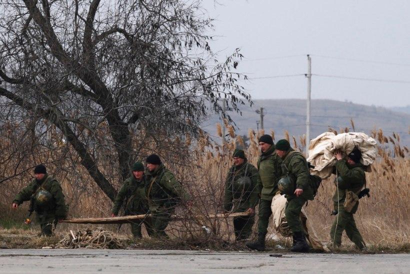 Esmaspäevased sündmused Ukrainas Krimmis