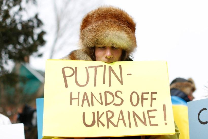 Pühapäevased sündmused Ukrainas Krimmis