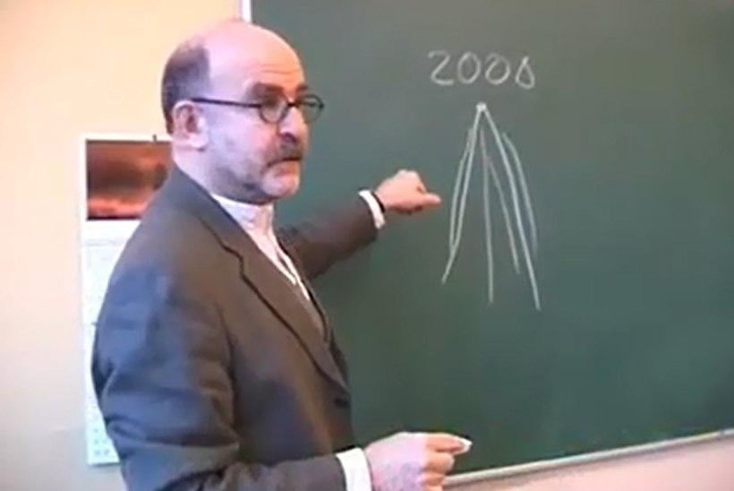 Professor David Vseviov klassi ees: minu jaoks oli see meeldiv kohustus