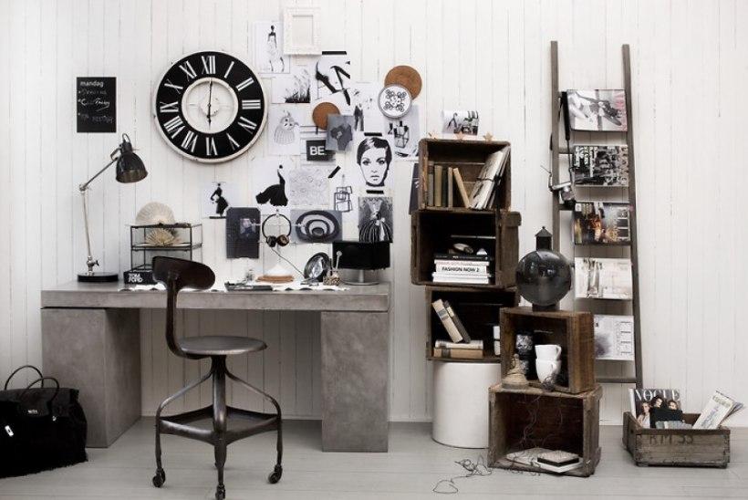 Kodukontor kujunda inspireerivaks, käepäraseks ja mugavaks!