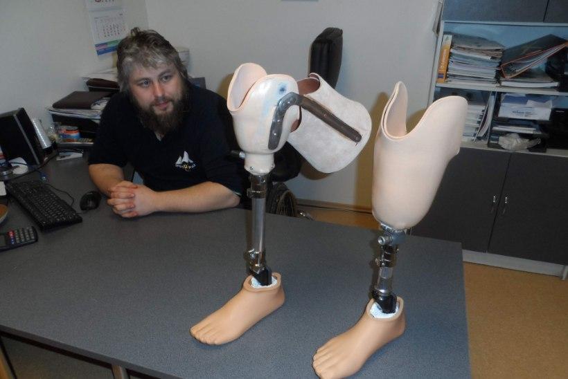"""Proteesimeistrid aitavad taas kõndima: """"Mõni hakkab kohe käima, mõnel on keerulisem."""""""