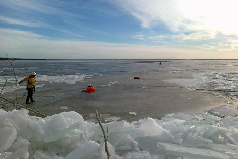 Narva veehoidlal vajus kalamees vee alla ja jäi kadunuks