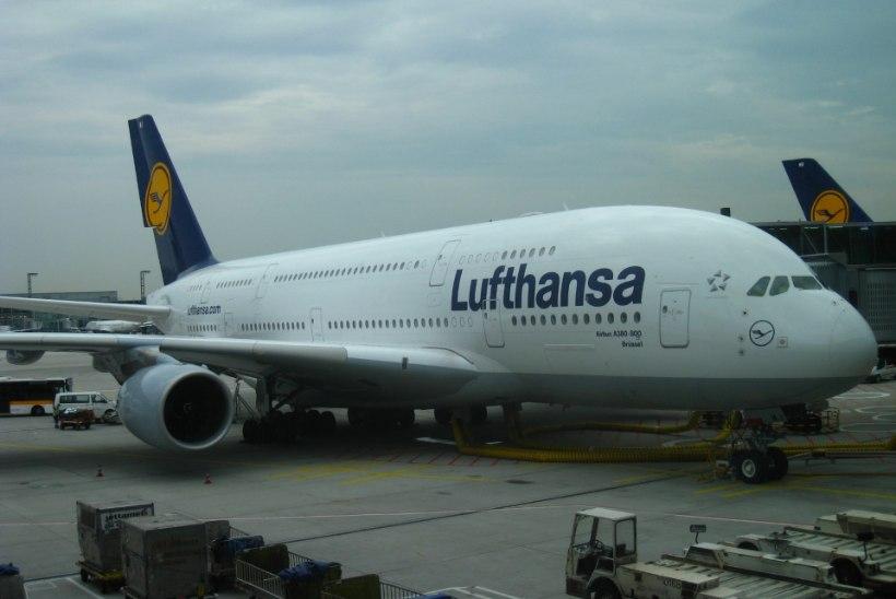 Lufthansa suurstreik puudutab ligi poolt miljonit reisijat