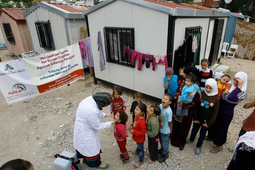 Süüria naaberriigid muretsevad lastehalvatuse leviku pärast