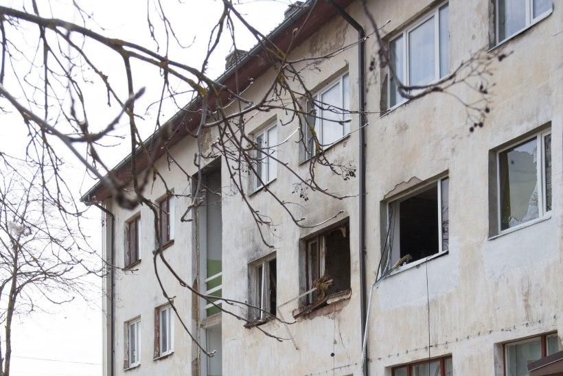 Plahvatuses kaotas kodu Kunda üks tublimaid peresid