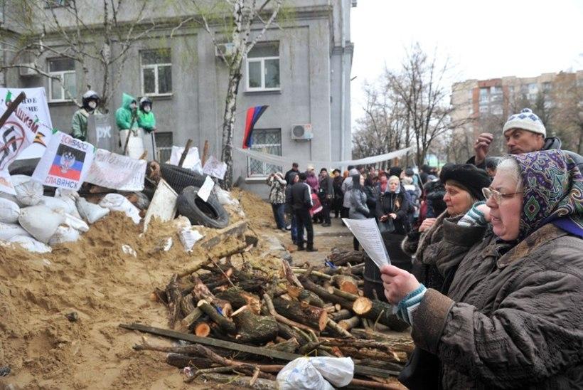 Ukraina võitleb separatistidega