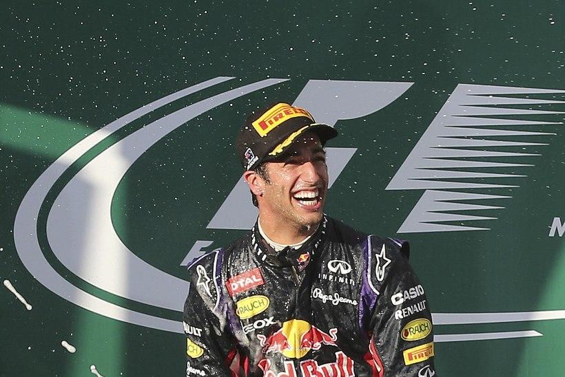 Ricciardo jäi Austraalia poodiumikohast jäädavalt ilma
