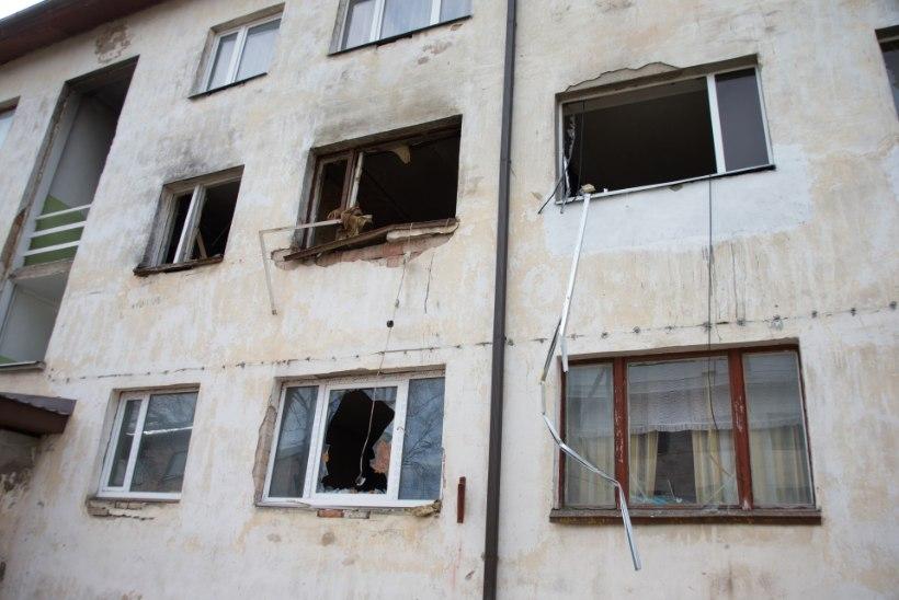 Kundas plahvatanud majja jäi uhiuus korter
