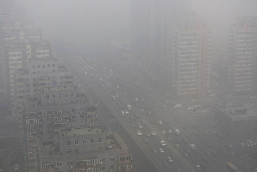 Õhusaaste Aasias toidab Vaiksel ookeanil tekkivaid torme