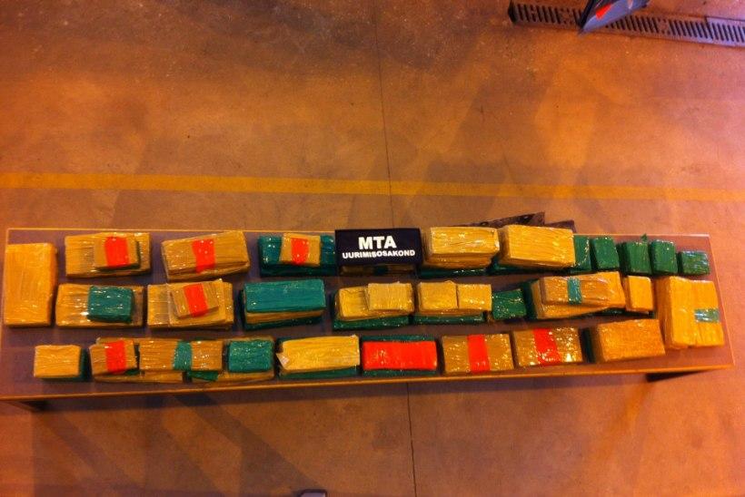 Toll avastas Luhamaa piiripunktis autost üle 102 kilo hašišit