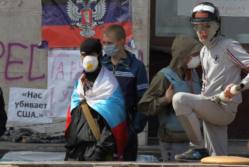 Donetski separatistid pole nõus hõivatud hoonetest lahkuma